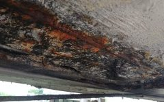 rusted rebar concrete inspection