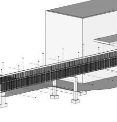 Four Winds Concrete Rehabilitation -catwalk A6 replacement
