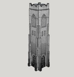 trinity anglican church tower design