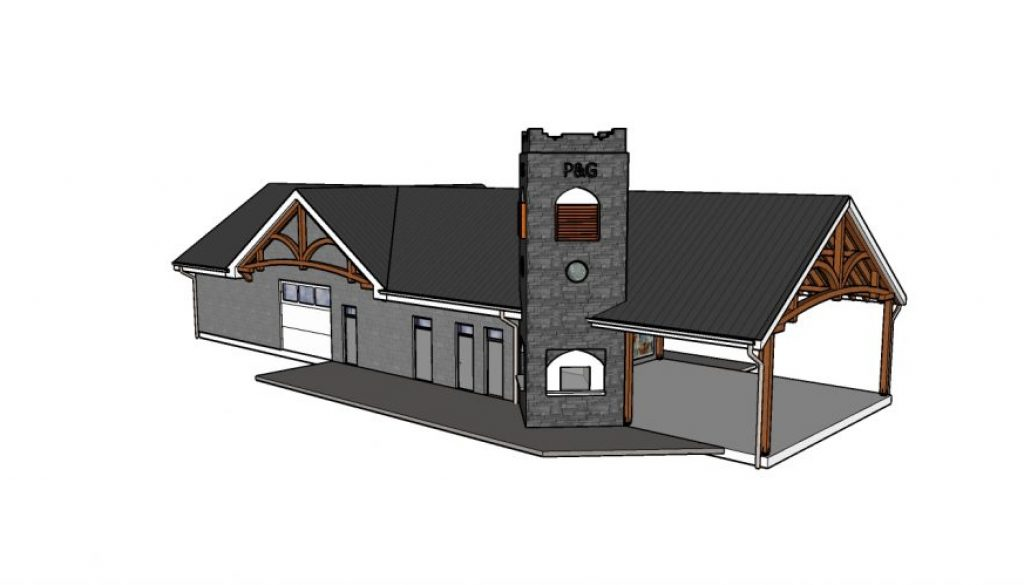P&G Pavillion - Architectural
