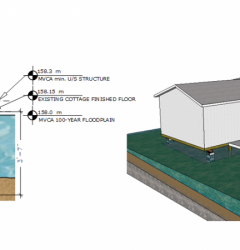 house foundation and design schematic