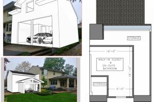 House Garage Expansion Design