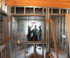 construction in house