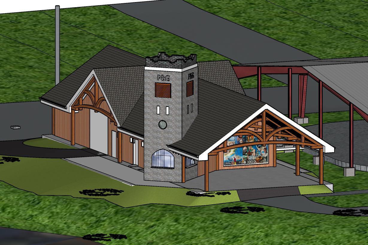 P&G Pavilion Schematic