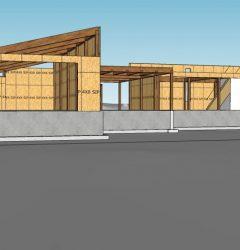 Engineered Wood House