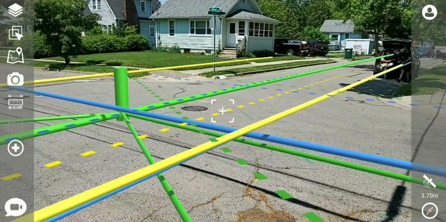 3D imaging of utilities