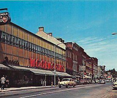 Downtown brockville 1950s